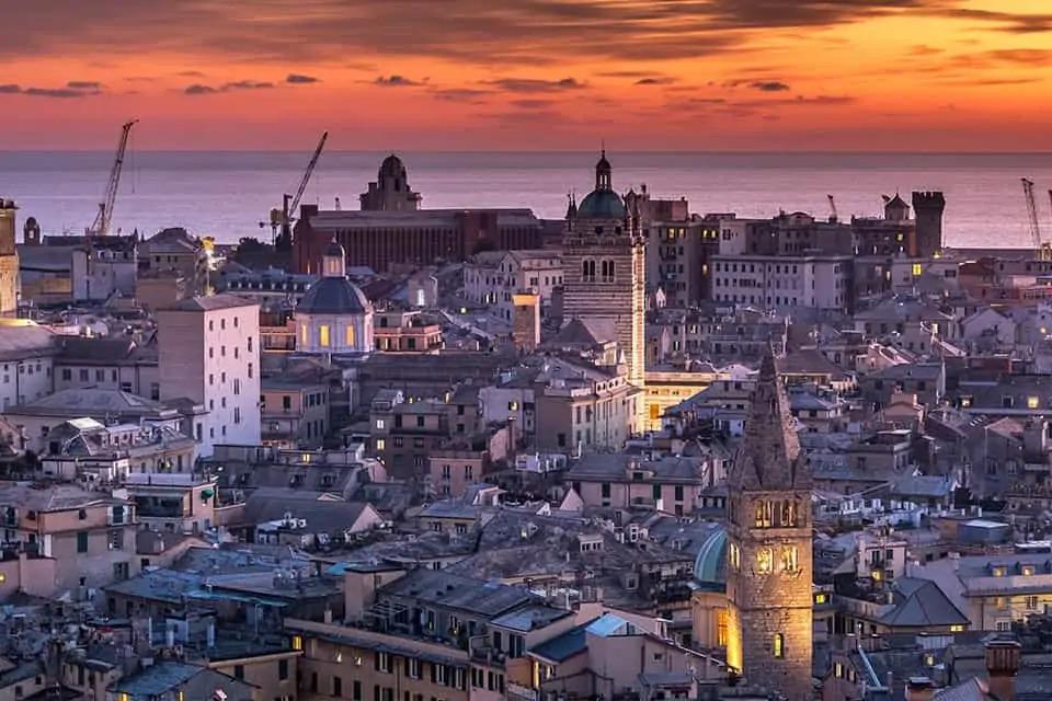 Genova La Superba - città marinara -