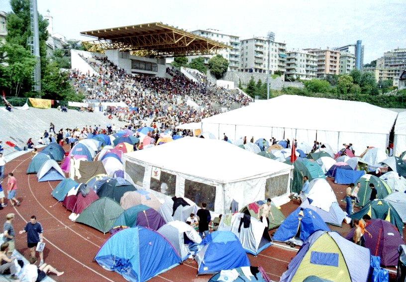 G8 Genova stadio Carlini