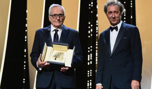 Regista Marco-Bellocchio-Paolo-Sorrentino-Cannes-2021-Heraldo.it - photo-by-Pascal-Le-Segretain-Getty-Images