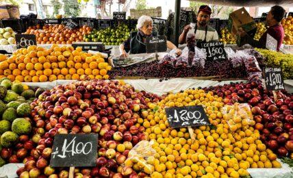 mercato di frutta