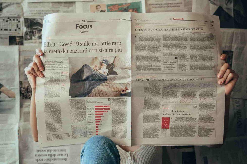 Crimine, giustizia e media - giornale Heraldo.it - Maurizio Corte - giornali - photo ludovica dri - unsplash